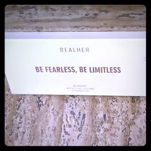 Be fearless. Be limitless. Real her blush set